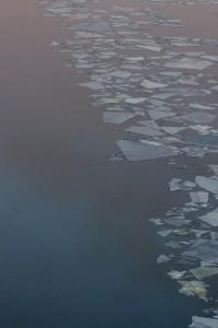 Jäälauttoja Leppävirrassa
