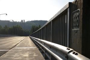 Leppävirran silta on valmistunut 1965