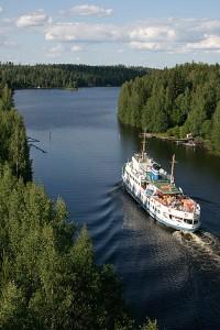 M/S Koli III kohti Kuopiota