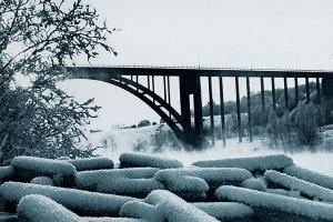 Leppävirran uusi silta Pohjois-Savo kirjassa vuodelta 1967