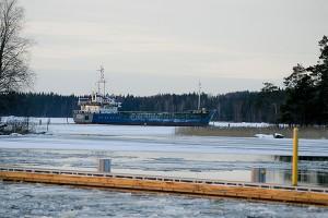 Pietarilainen Koriangi laiva Mustikkaselällä