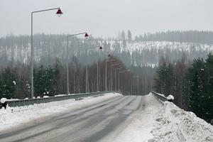 Talvinen Leppävirran silta