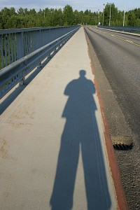 Kuvaaja Leppävirran sillalla