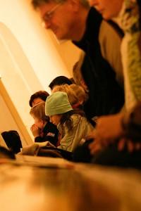 Leppävirran kirkossa myös lapsia, Leppävirta