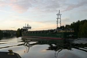 Laatokka - 106 Leppävirrassa kohti Kuopiota