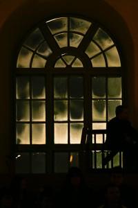 Leppävirran kirkon huurteinen ikkuna, Leppävirta