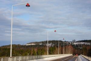 Keväinen Leppävirran silta