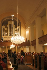 Leppävirran kirkossa, Leppävirta