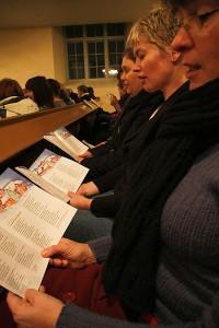Leppävirran kirkossa on joululaulujen tunnelmaa, Leppävirta
