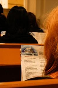 Sylvian joululaulu, Leppävirran kirkko, Leppävirta