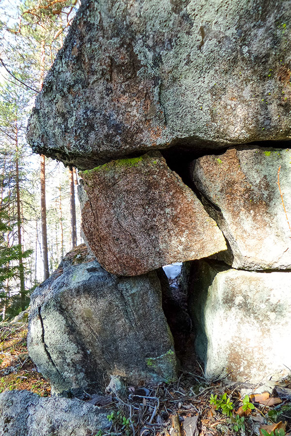 Vaajavuoren kallioita