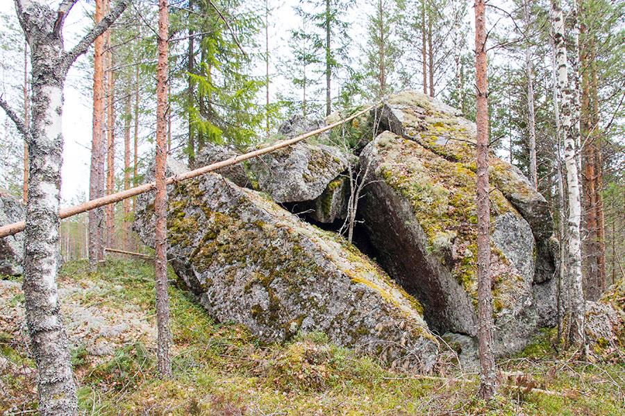 Haljennut kivi