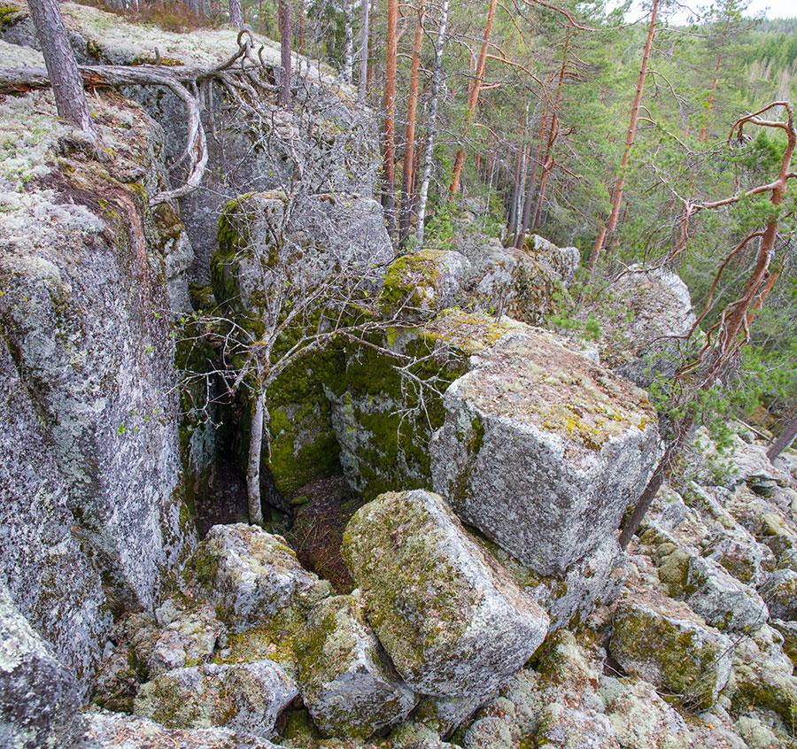 Kalliohalkeaman loppu pää