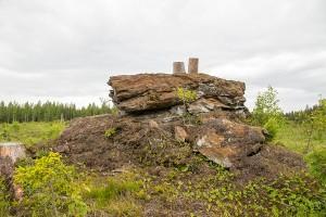 Karhukiven luola, Kantele, Leppävirta