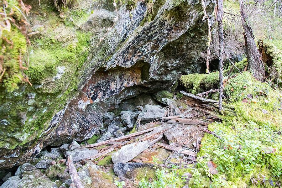 Sääksvuori, Kangaslampi