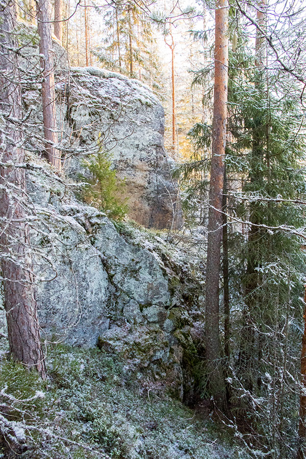 Pirunkirkko, Syysjärvi, Juva
