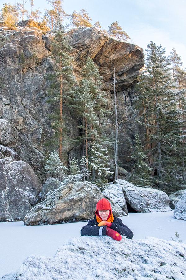 Pyhäpohjanlahen karnpääkallio, Syysjärvi, Juva