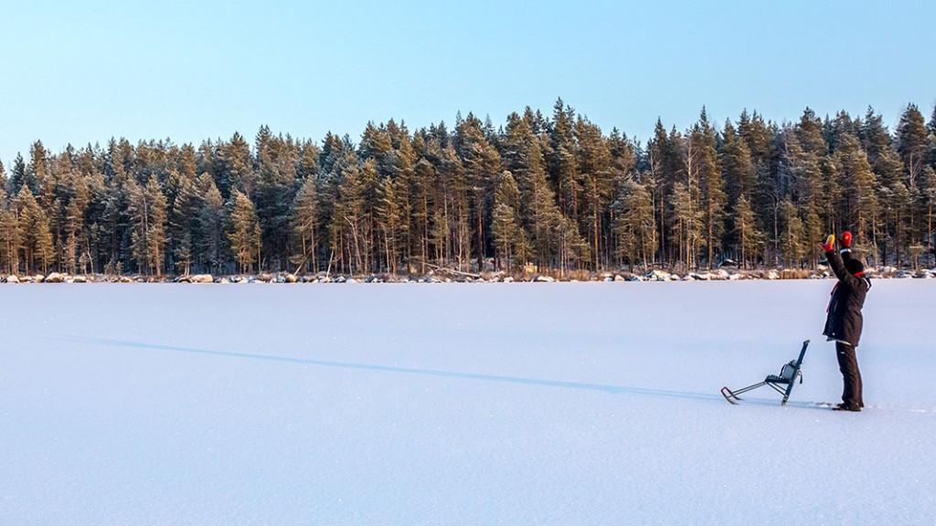 Nuutin Säyneinen, Sorsavesi