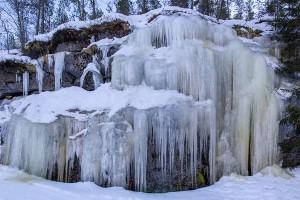 Kuvajanvuoren jääputous, Sorsavesi, Leppävirta