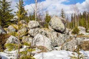 Riihivuoren kiviasetelmia, Leppävirta