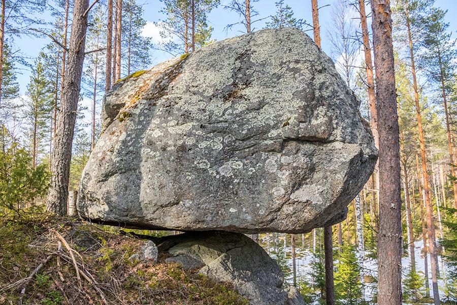 Sauna-Saarinen, Tihusniemi