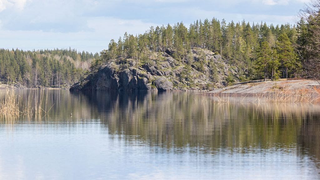 Hopsat, Linnansaaren kansallispuisto, Haukivesi, Rantasalmi