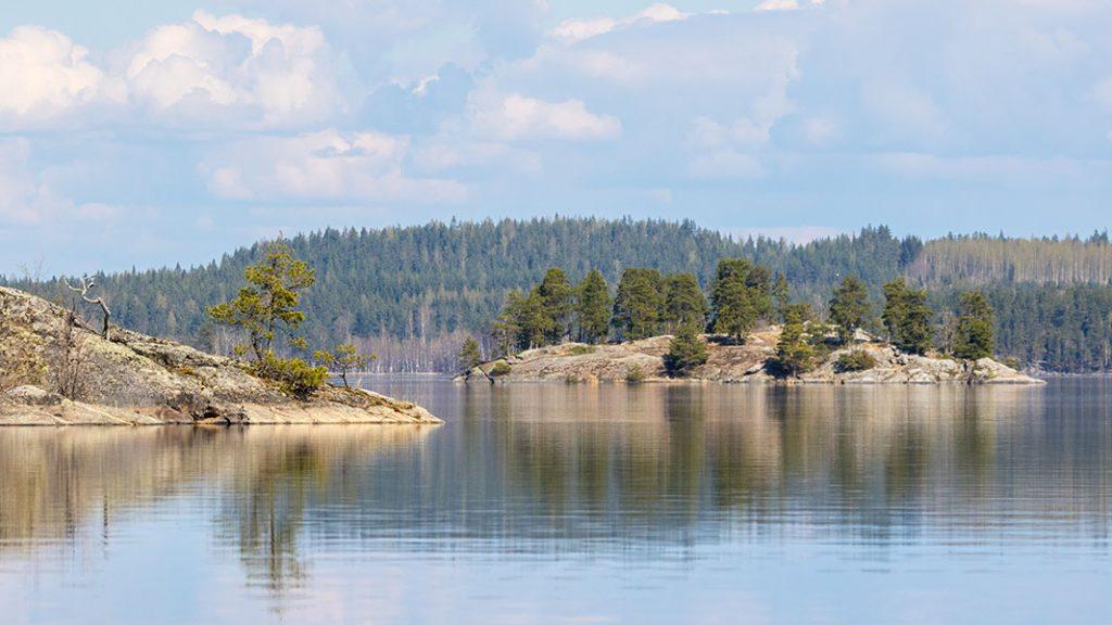 Kytöselkä, Linnansaaren kansallispuisto, Haukivesi, Rantasalmi