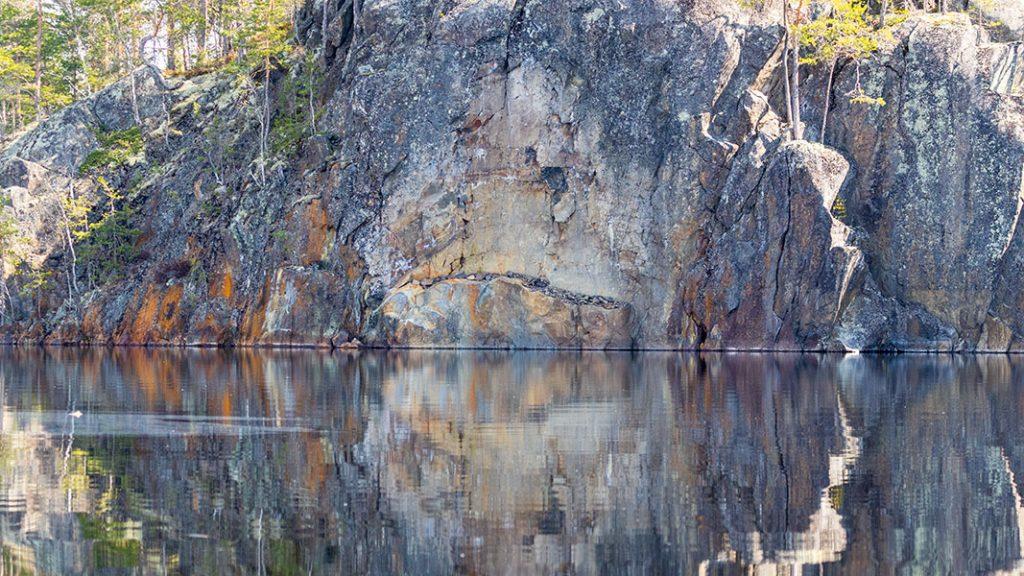 Pieni-Hopsa, Linnansaaren kansallispuisto, Haukivesi, Rantasalmi