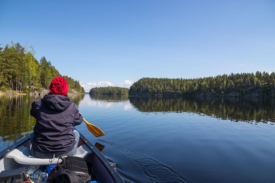 Haukivesi, Linnansaaren kansallispuisto
