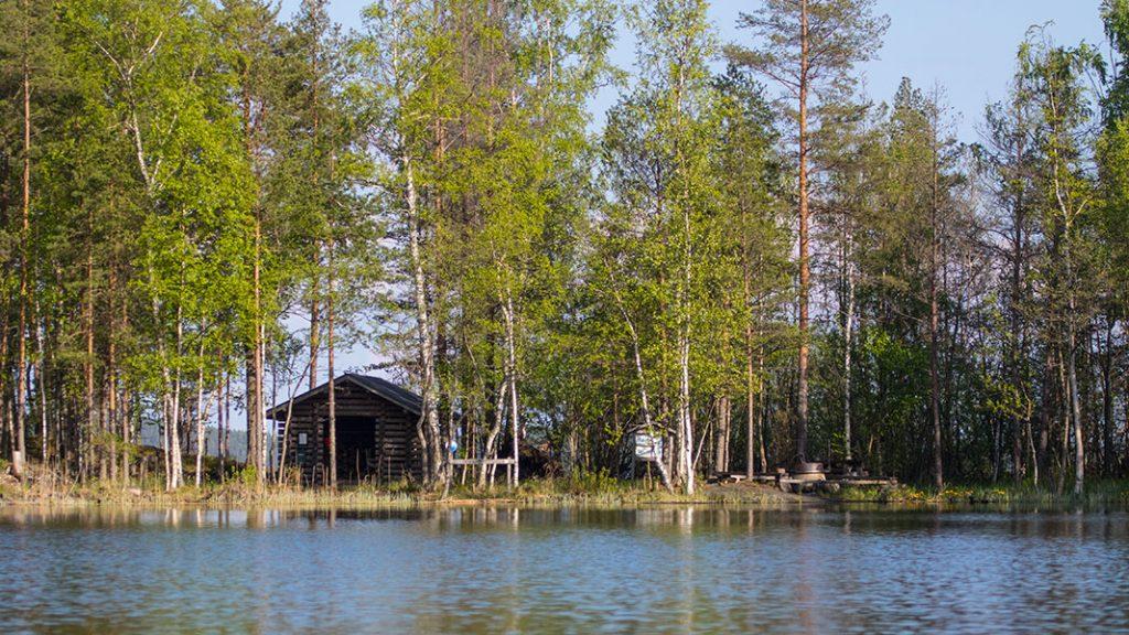Pinei-Lappi, Haukivesi, Linnansaaren kansallispuisto