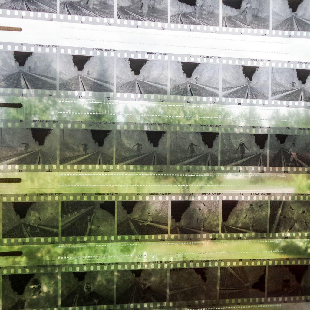 Kehitetty mustavalkofilmi
