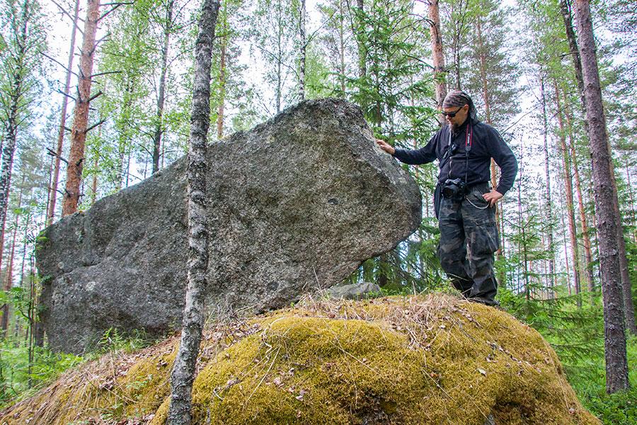 Vuoren päällyskivi, Tihusniemi