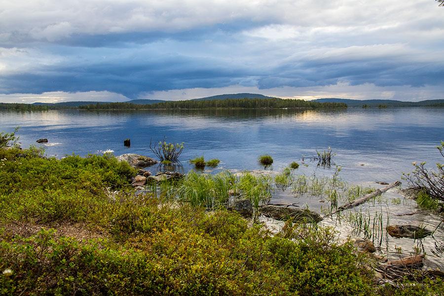 Akku Ukonjärven takana, Konesniemi, Ivalo