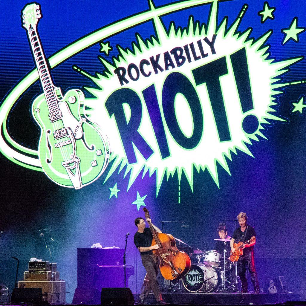 Brian Setzer's Rockabilly Riot!, Pori Jazz 2016
