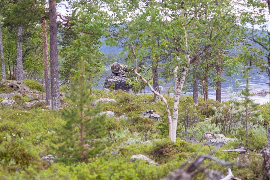 Päälyskivi, Konesniemi, Ivalo