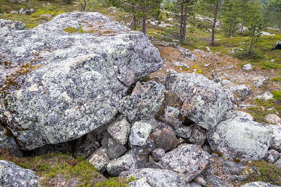 Akupää, Inari