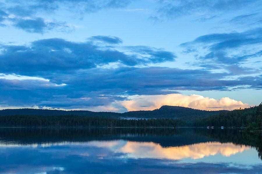 Näkymä Nuora-Juhanista Juppuravaaralle, Inari