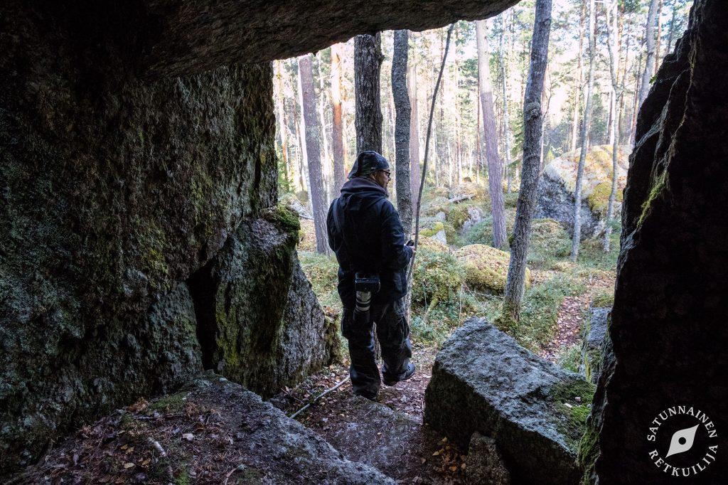 Leväniemen lohkarelinna pohjoinen, Jäppilä