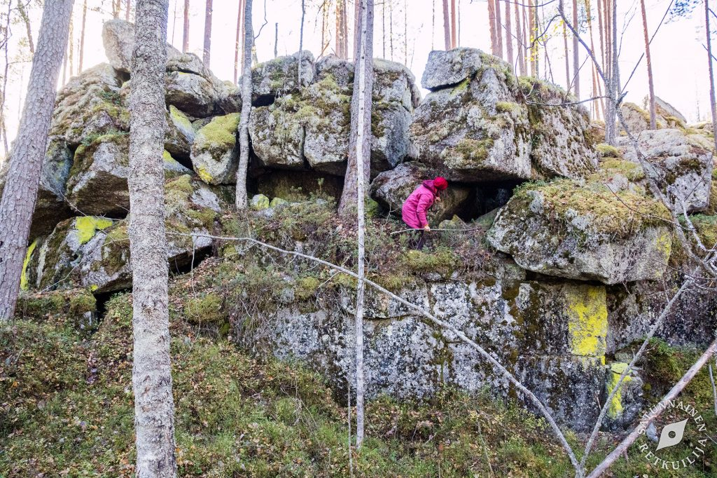 Leväniemen lohkarelinna eteläinen, Jäppilä