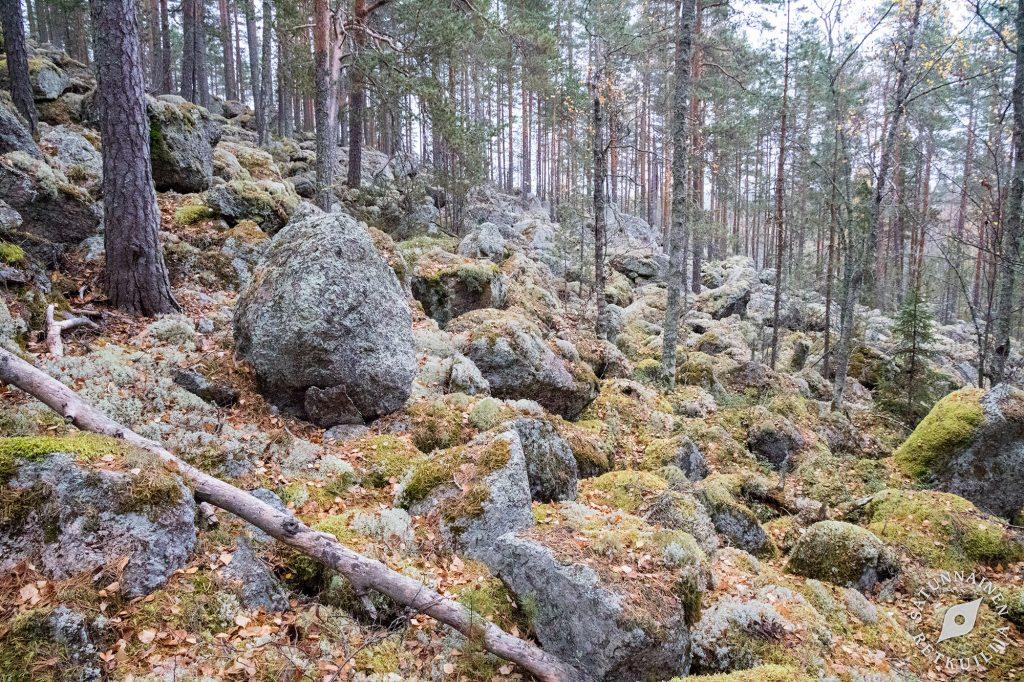 Pienempi vuoren pirunpeltorinne, Leväniemi, Jäppilä