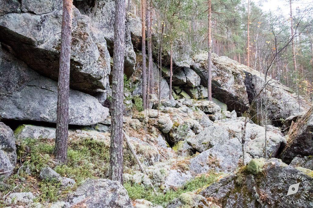 Vuorilammen rannan jyrkänne, Leväniemi, Jäppilä