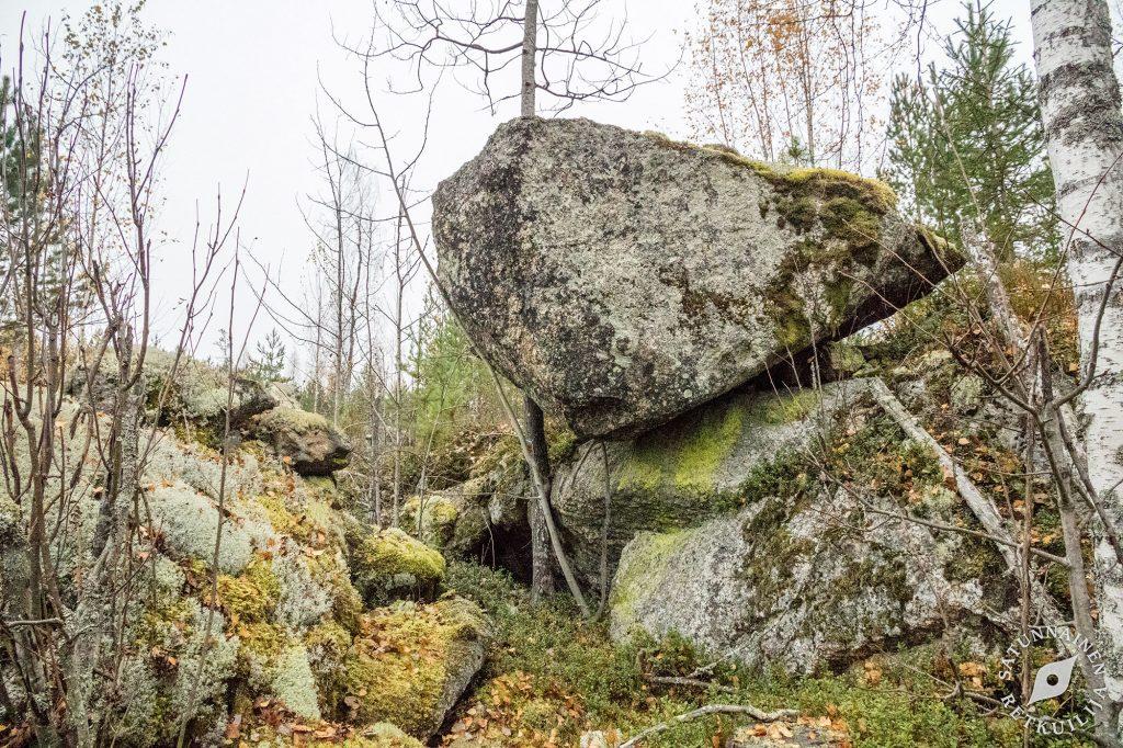 Töyräskivi, Leväniemi, Jäppilä