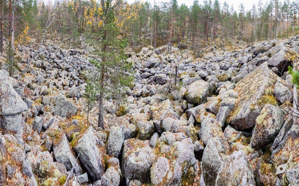 Vuoren pirunpeltorinne, Leväniemi, Jäppilä