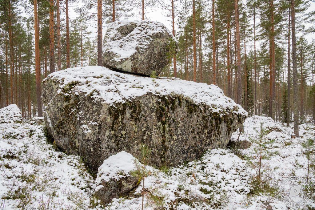 Ukonkivi, Kivikuru, Jäppilä