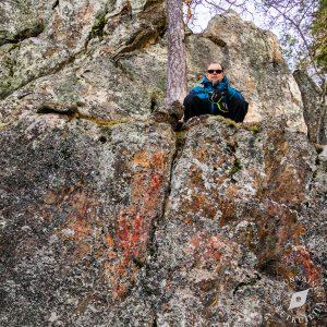 Karhuvuoren kalliomaalauslöydös varmistettu, Leppävirta