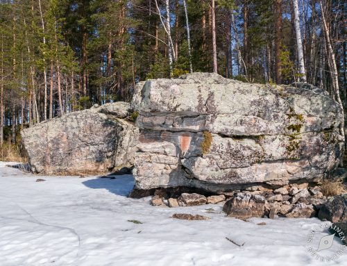 Potkuriretki Luutsalon kalliomaalaukselle ja jalkakivelle, Heinävesi