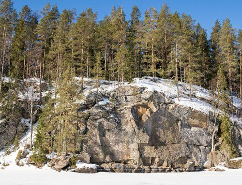 Toussunlinna – Pohjois-Savon ensimmäinen kalliomaalaus, Rautalampi