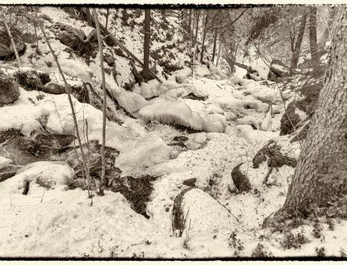 Talvinen Korkeakoski – Suomen korkein putous, Maaninka